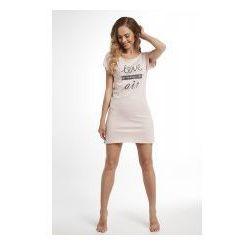 Koszula nocna Dolce Sonno - Tina - Róż Puder - LIA