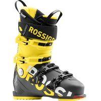 Buty narciarskie, Buty narciarskie Rossignol Allspeed 120 czarne/żółte 2018/2019