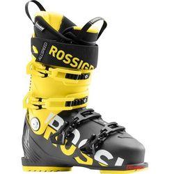Buty narciarskie Rossignol Allspeed 120 czarne/żółte 2018/2019