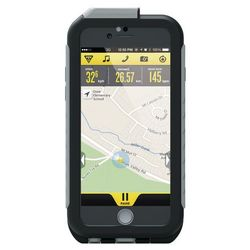 Topeak Weatherproof RideCase dla iPhone 6+uchwyt szary/czarny 2018 Akcesoria do smartphonów Przy złożeniu zamówienia do godziny 16 ( od Pon. do Pt., wszystkie metody płatności z wyjątkiem przelewu bankowego), wysyłka odbędzie się tego samego dnia.