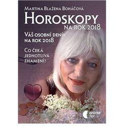 Horoskopy na rok 2018 - Váš osobní deník na rok 2018 Martina Blažena Boháčová