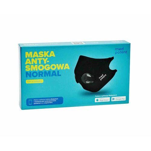 Maski antysmogowe, Maska Normal antysmogowa N99 czarna | Oryginalny produkt med patent