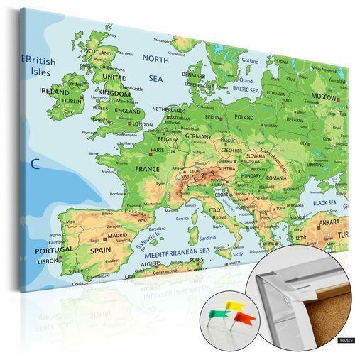 Tablice szkolne, SELSEY Tablica korkowa Europa