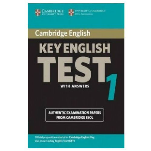 Książki do nauki języka, Cambridge Key English Test 1 Student&-8217;s Book with answers (opr. miękka)