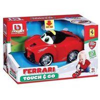 Osobowe dla dzieci, BB Junior Ferrari Samochód Dotknij i jedź