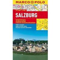 Mapy i atlasy turystyczne, Salzburg mapa 1:15 000 Marco Polo (opr. miękka)
