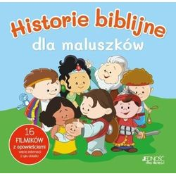 Historie biblijne dla maluszków (opr. twarda)