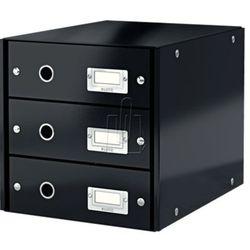 Pojemnik Leitz Click&Store z 3 szufladami czarny 60480095