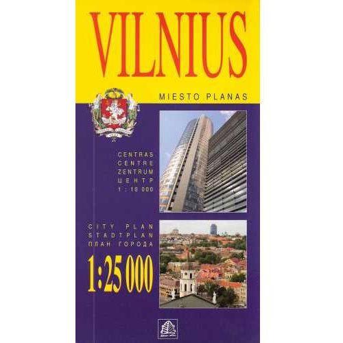Mapy i atlasy turystyczne, WILNO - VILNIUS (SETA) 1:25 000 (opr. miękka)