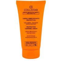 Kosmetyki do opalania, Collistar Protective Tanning Cream SPF 15 150ml W Opalanie