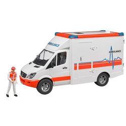 BRUDER Ambulans Sprinter z kierowcą - BEZPŁATNY ODBIÓR: WROCŁAW!