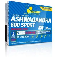 Witaminy i minerały, OLIMP ASHWAGANDHA 600 SPORT 60 CAPS