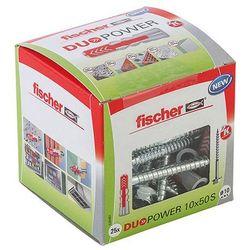 Kołek uniwersalny Fischer Duopower 10 x 50 z wkrętem 25 szt.