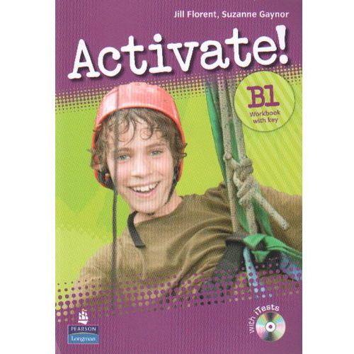 Książki do nauki języka, Activate B1 WB+key CD Gratis (opr. broszurowa)