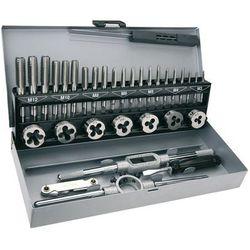 Zestaw narzynek i gwintowników TOPEX 14A426 M3 - M12 (32 elementy) DARMOWY TRANSPORT