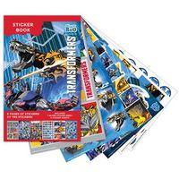 Naklejki, Książeczka z naklejkami Transformers