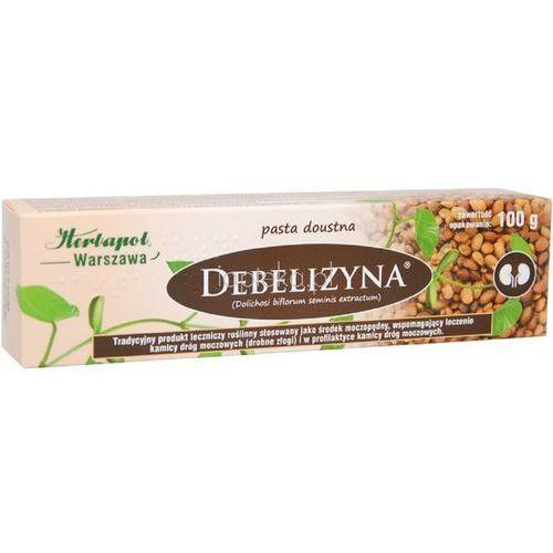 Pasty do zębów, Debelizyna pasta 100 g