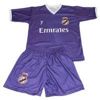 Piłka nożna, Komplet Replika Ronaldo 7 Real Madryt fioletowy