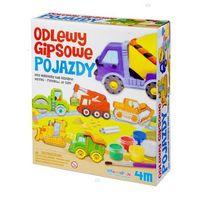Kreatywne dla dzieci, 4M, zestaw kreatywny Odlewy gipsowe Pojazdy