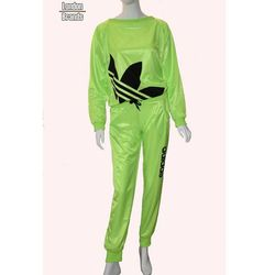 Dres ADIDAS limonkowy