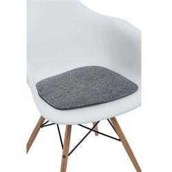 Poduszka na krzesło Arm Chair szara jas. - D2 Design - Zapytaj o rabat!