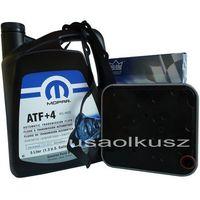 Oleje przekładniowe, Olej MOPAR ATF+4 oraz filtr automatycznej skrzyni 4SPD Plymoyth Breeze