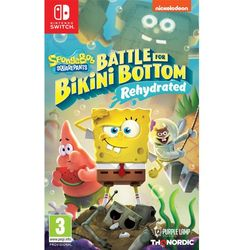 Gra NINTENDO SWITCH Spongebob Squarepants: Battle for Bikini Bottom - Rehydrated