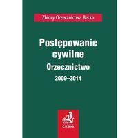 Książki prawnicze i akty prawne, Postępowanie cywilne. Orzecznictwo 2009-2014 - Zamów teraz bezpośrednio od wydawcy (opr. miękka)