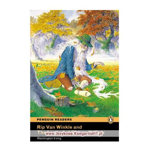 Książki do nauki języka, Rip Van Winkle And The Legend Of Sleepy Hallow Plus Audio Cd [Książka Z Płytą Cd] (opr. miękka)