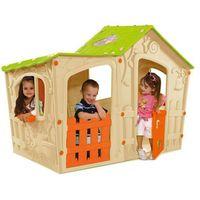 Domki i namioty dla dzieci, KETER domek do zabaw dla dzieci MAGIC VILLA - beżowy - BEZPŁATNY ODBIÓR: WROCŁAW!