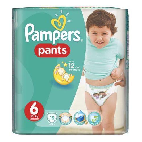 Pieluchy jednorazowe, Pampers Pants 6 (16+ kg) Carry Pack pieluchomajtki 19 szt