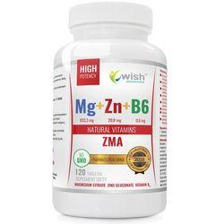 ZMA Magnez+Cynk+B6 Mega Dawka 120 kapsułek