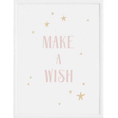 Plakaty, Plakat Make a Wish 30 x 40 cm