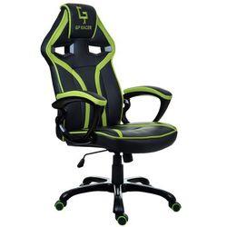 Fotel biurowy GIOSEDIO czarno-zielony,model GPR047