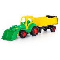 Traktory dla dzieci, Traktor Mistrz z łyżką i naczepą