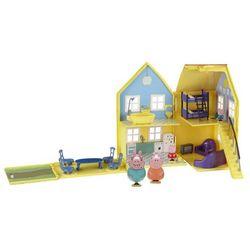 Toy Options. Deluxe Peppa Pig Playhouse - domek Świnka Peppa z figurkami [od 18 mies.] -
