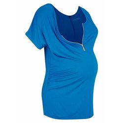 Shirt ciążowy i do karmienia piersią LENZING™ ECOVERO™ bonprix lazurowy niebieski