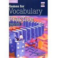 Książki do nauki języka, Games For Vocabulary Practice (opr. miękka)