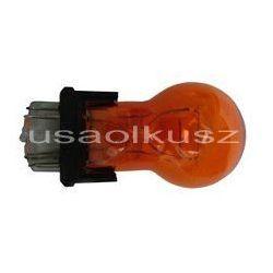 Żarówka pomarańczowa dwuwłóknowa 3157NA P27/7W amber W2,5x16q
