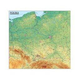 Polska Mapa Ogólnogeograficzna mapa ścienna 1:570 000. Darmowy odbiór w niemal 100 księgarniach!