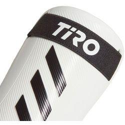 Ochraniacze piłkarskie adidas Tiro SG Training biało-czarne GJ7758