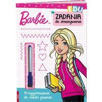 Książki dla dzieci, Barbie Zadania do zmazywania - Jeśli zamówisz do 14:00, wyślemy tego samego dnia. (opr. broszurowa)
