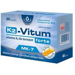 K-2 Vitum Forte (Witamina K2 MK-7 75µg) 60 kaps.
