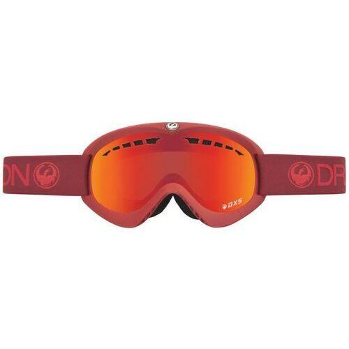 Kaski i gogle, gogle snowboardowe DRAGON - Dxs Epoch (Red Ionized) (419)