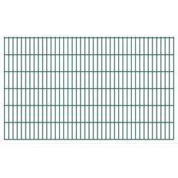 Panel ogrodzeniowy 2008x1230 mm, zielony