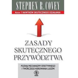Zasady skutecznego przywództwa - Covey Stephen R. - książka (opr. broszurowa)