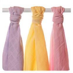 XKKO Ręczniki tetrowe z bawełny Organic XKKO 90x100cm (3 szt.), Pastels Dziewczynka - BEZPŁATNY ODBIÓR: WROCŁAW!
