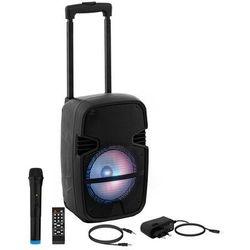 Uniprodo Głośnik przenośny - RMS 15 W - Bluetooth - mikrofon CON.PAS8-01 - 3 LATA GWARANCJI