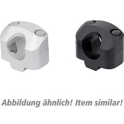 SW-MoTech Handlebar clamps 22 on 28 mm handlebar silver Speed Triple 1 50180540041