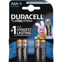 Bateria DURACELL Turbo Max LR03/AAA (4 szt.)